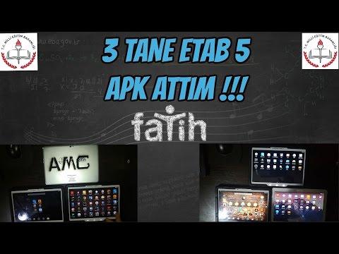 E-Tab 5 Rootsuz Apk ve Kurumsal Yöneticisi Kaldırma %100 Kanıtlandı. ( 3 TANE ETAP 5 ROOT ATTIM )