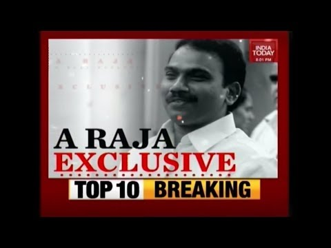 A Raja Exclusive Interview To India Today After The 2G Scam Verdict