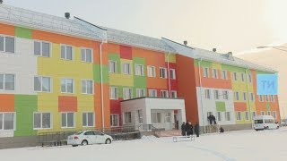 В пгт Уруссу готовится к открытию новая гимназия