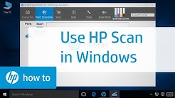 Scanning from an HP Printer in Windows with HP Scan | HP Printers | HP