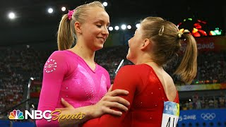 Nastia Liukin and Shawn Johnson: Relive their epic Olympic battle in Beijing (2008) | NBC Sports