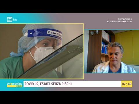 Covid-19, focolai in tutta Italia - Unomattina estate - 21/07/2021