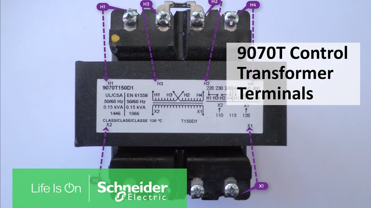 video 9070t and 9070tf transformer wiring diagram illustration of parallel and series connections  [ 1280 x 720 Pixel ]