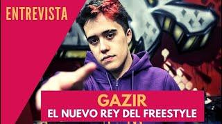 Entrevista al freestyler Gazir