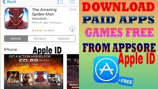 The Amazing Spider man Free download for AppStore iOS 2017 Apple ID