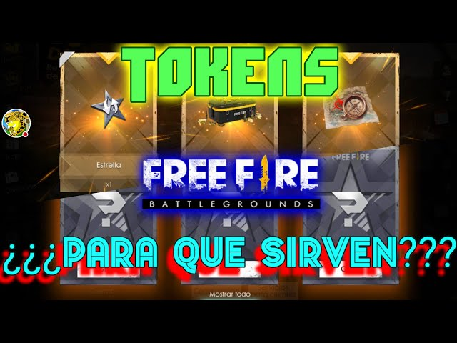 TOKENS ¿PARA QUE SIRVEN? - FREE FIRE