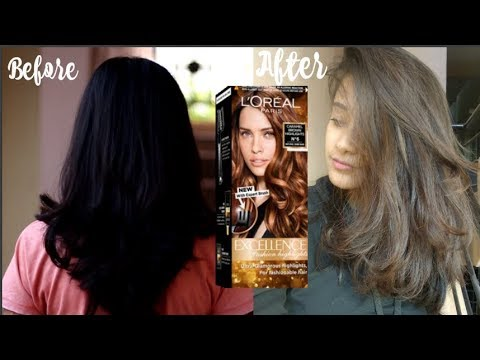 I Coloured My Hair Using L Oreal Paris Excellence Fashion Highlights