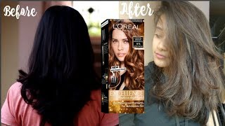 I coloured my hair using L'Oreal Paris Excellence Fashion Highlights Hair Color
