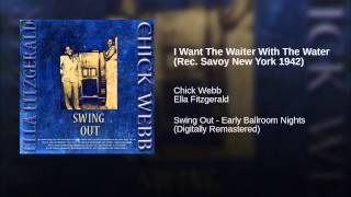I Want The Waiter With The Water (Rec. Savoy New York 1942)