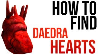 Skyrim Daedra Heart Locations No Bug Glitch Abusing