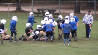 10 Oct 2012 - Youth Tackle Football - Panthers vs Saints