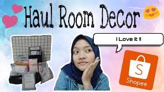 Shopee Haul Room Decor 2019    Indonesia🇮🇩