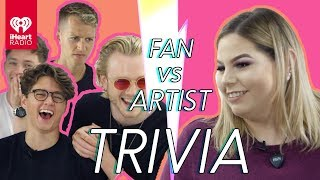 The Vamps Challenge Super Fan In Trivia Battle | Fan Vs. Artist Trivia
