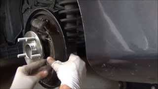 2009 Toyota Corolla Rear Hub DIY