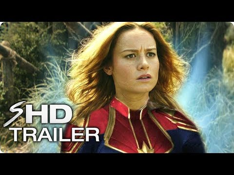 CAPTAIN MARVEL (2019) Avengers 4 Trailer Concept #1 – Brie Larson Marvel Movie HD