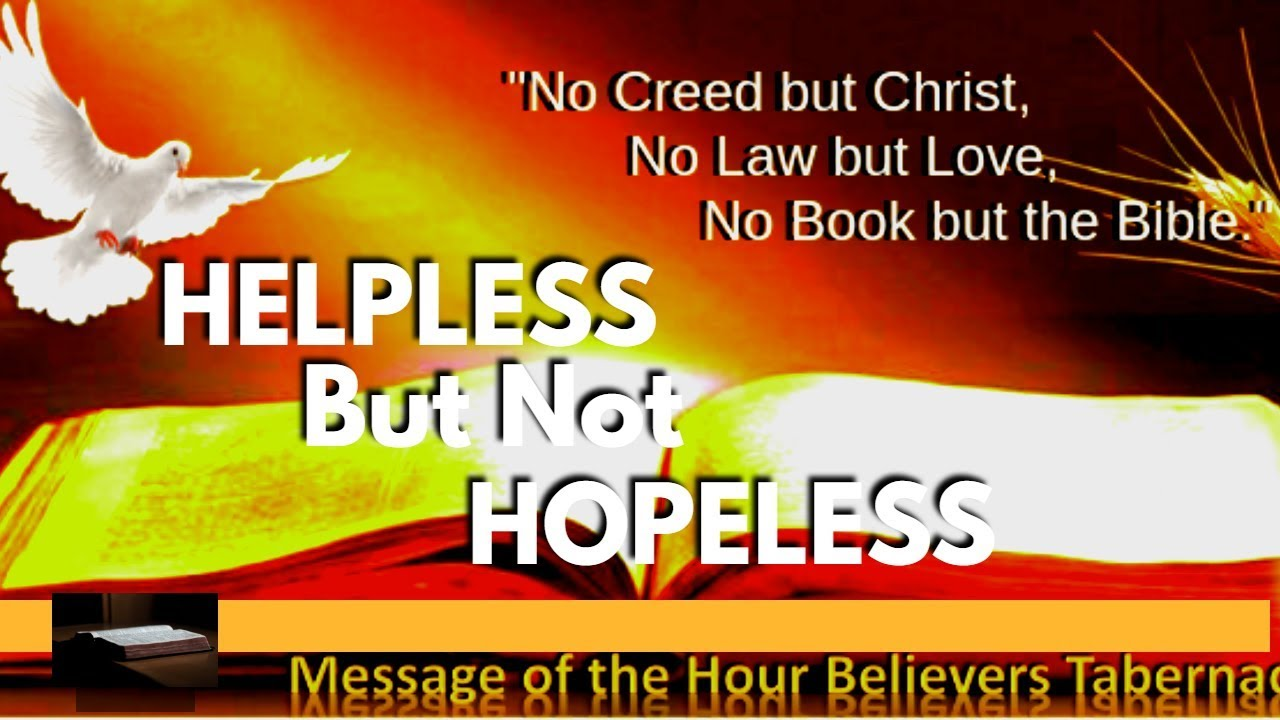 19-0412P_HELPLESS BUT NOT HOPELESS_ Message of the Hour Believer_Qatar