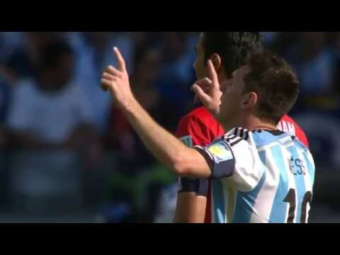 Lionel Messi Fabulous Goal vs Iran - Word Cup 2014