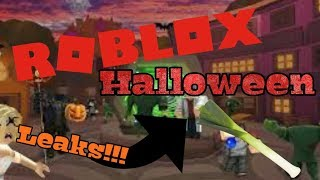 Roblox Halloween 2018 event leaks!