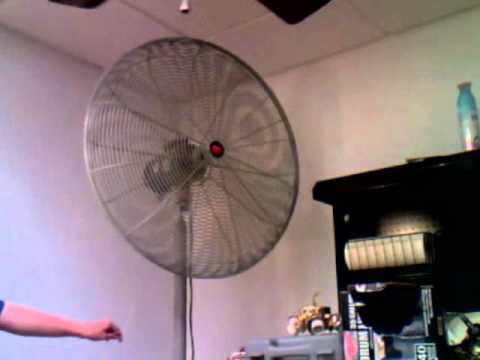 Dayton Industrial Pedestal Fan Youtube