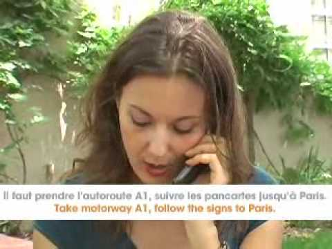 Free French Video - French Directions Language Dialogue