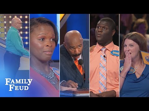 TOP 5 Feud moments from JULY 2016!!! | Family Feud