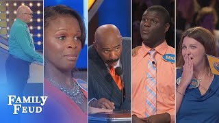 Family Feud's FUNNIEST Steve Harvey Moments!!! | Part 2