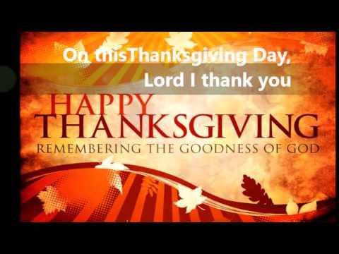 Thanksgiving Day with lyrics