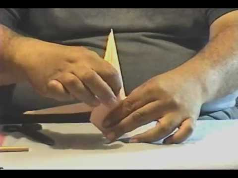 How To Make Origami Mermaid Part 1wmv Youtube