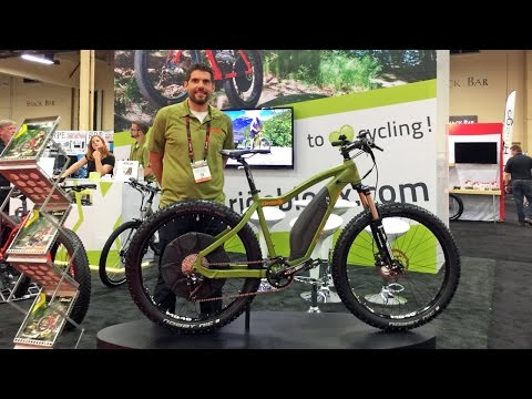2017 OHM and BionX Updates from Interbike (Mountain Model, Color Display, Integrated Battery)