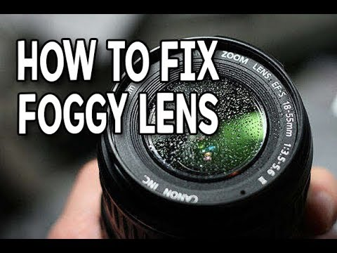 HOW TO FIX FOGGY LENS | FOR ALL CAMERAS WHEN TRAVELING