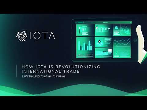 IOTA Revolutionizes International Trade: Track and Trace Container Demo