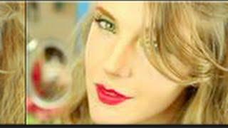 Tutorial de maquillaje: Sombra verde y labios rojos - Anastassia Sfeir