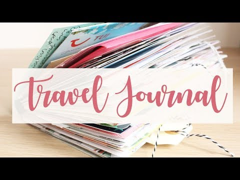 TRAVEL JOURNAL FLIP THROUGH || COSTA DEL SOL