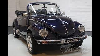 Volkswagen Beetle 1303 Cabriolet 1978 -VIDEO- www.ERclassics.com