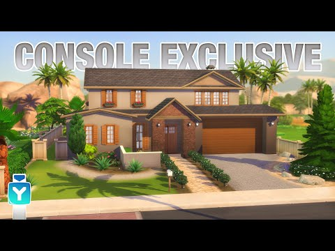 BASE GAME HOME PC & CONSOLE 🎮 Sims 4 | Speed Build 🏠