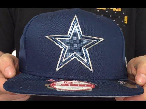 Cowboys  2015 NFL DRAFT SNAPBACK  Navy Hat by New Era - YouTube 37d6fa6a116