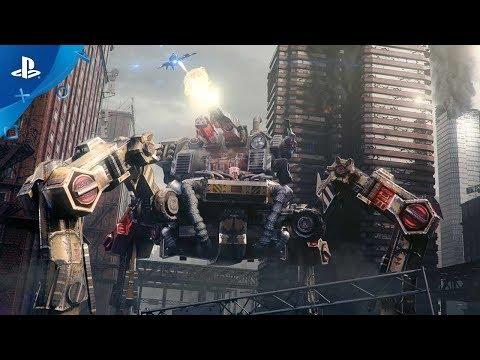X-Morph: Defense - Announcement Trailer | PS4