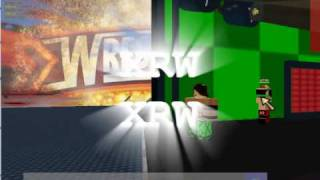 roblox XRW wrestling green screen intro