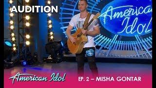 Misha: Ukrainian Rapper Will Have America Sing Along! | American Idol 2018