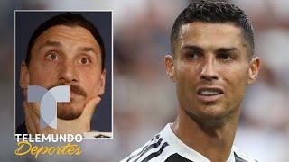 Zlatan Ibrahimovic destruye a Cristiano Ronaldo por Messi y su mensaje más insólito | Telemundo