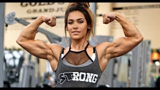 Female Fitness Motivation  - Cassandra Martin Strongest Barbie & Sexy Muscles