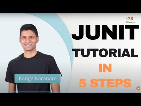 Junit tutorial for beginners learn java unit testing free.