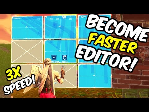 How To Edit Faster In Fortnite Season 9!