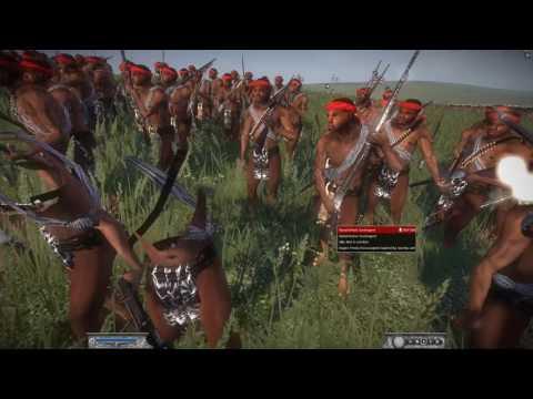 Battle of Ulundi (4 July 1879) Napoleon Total War Khartoum-Zulu mod
