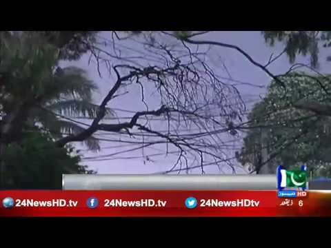 24 Report : People in Gujranwala enjoy pleasant weather after rain