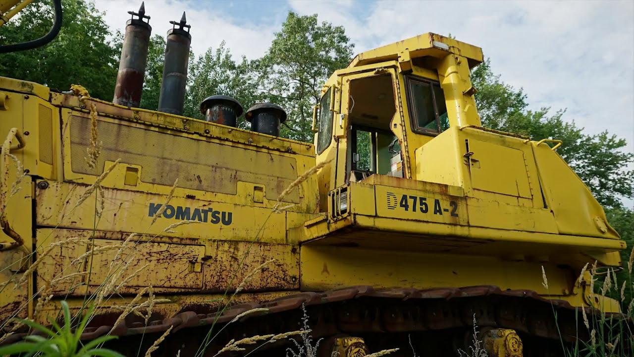 Abandoned Komatsu Bulldozer Near Mine Disaster Site Eastern Pa  Dd Explores  04:00 HD