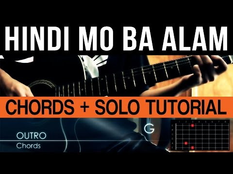 Guitar guitar chords bakit ba : Detail for BA Tutorial -
