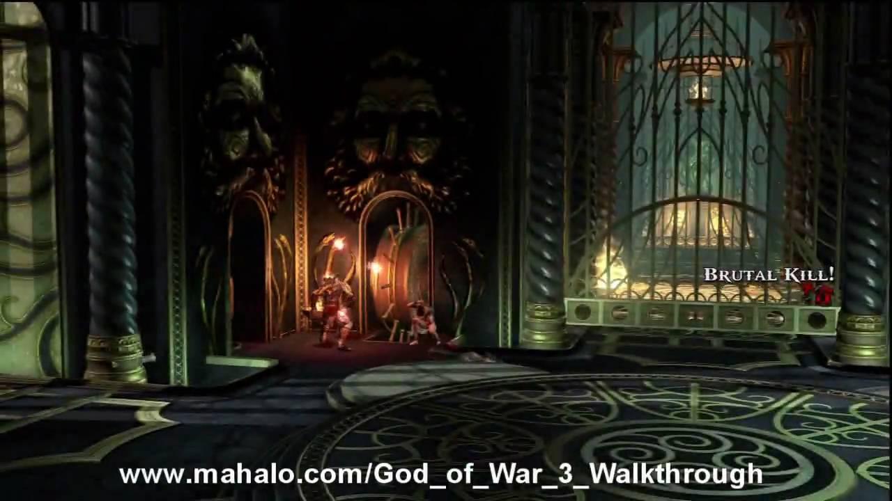 God of War III Walkthrough - Poseidon Princess Part 2 HD ...
