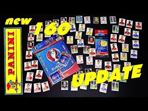 UPDATE 160 PANINI Sticker ⚽ UEFA ⚽ EURO 2016 new 160 OFFICIAL Stickers Hardcover ALBUM