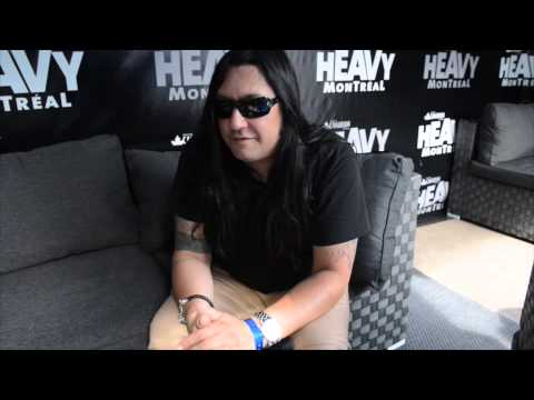 Interview with Eric Peterson of Testament - Heavy Montréal, 2015